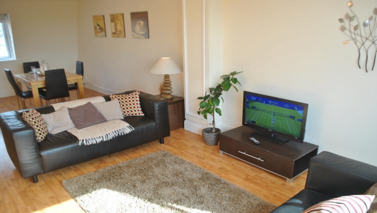 Living room at St Leonards' Apartment
