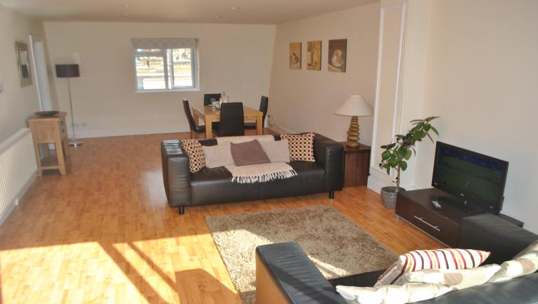 Living space at St Leonards' Apartment
