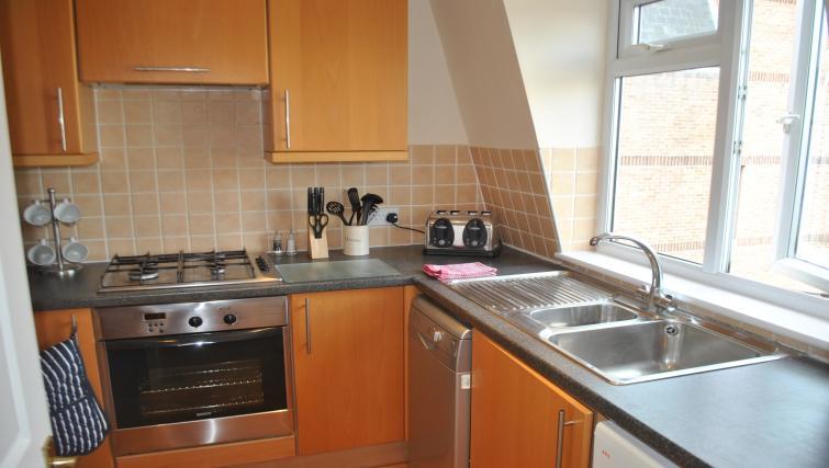 Kitchen at St Leonards' Apartment