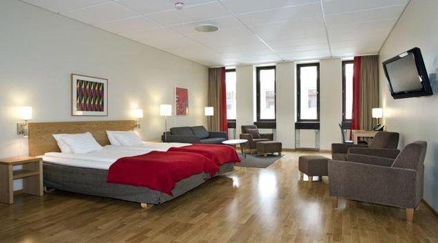 Living area at Scandic Malmö City