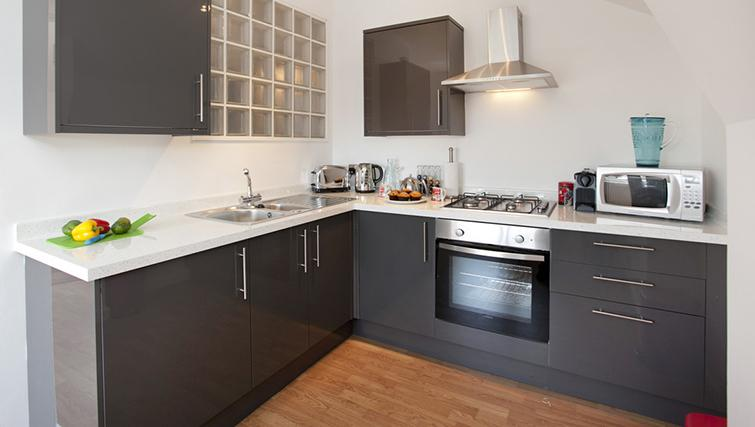 Kitchen at The Nest Apartment