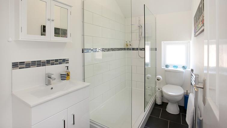 Bathroom at The Nest Apartment