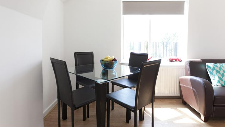 Dining area at The Nest Apartment