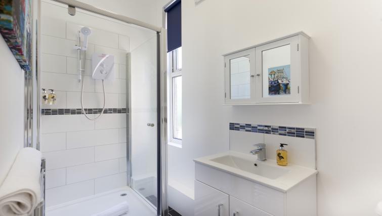 Bathroom at The Mezzo Apartment