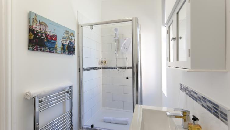 Shower at The Mezzo Apartment