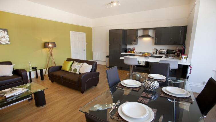 Dining area at The Mezzo Apartment