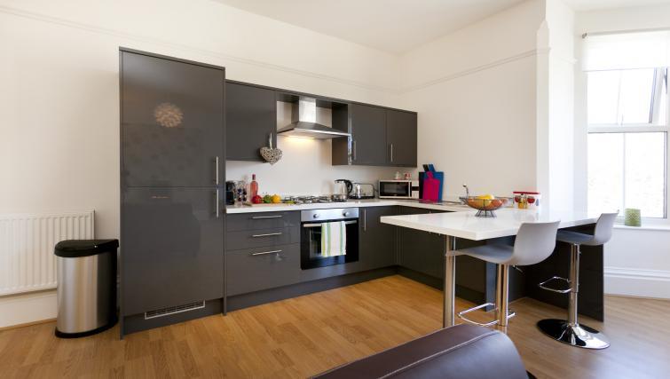Kitchen at The Mezzo Apartment