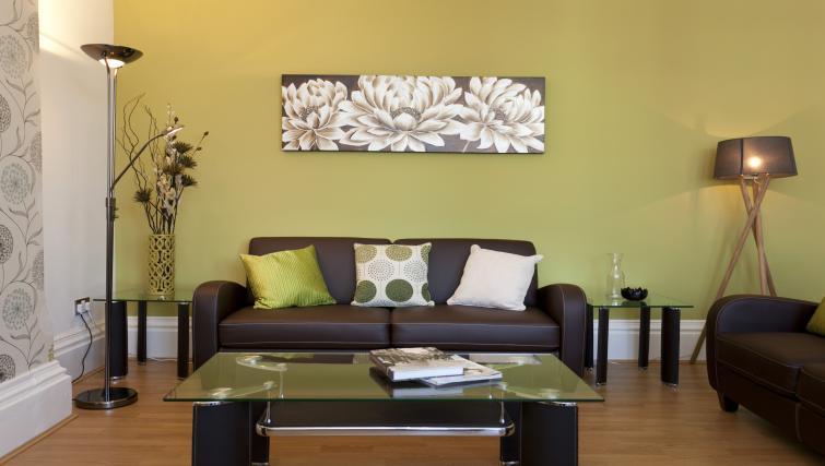 Sofa at The Mezzo Apartment