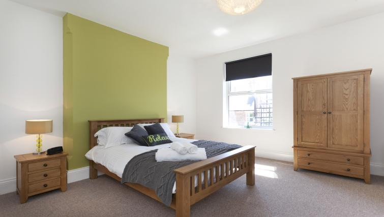 Bedroom at The Mezzo Apartment