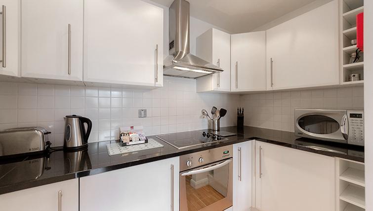 Kitchen at Groveland Court Apartments