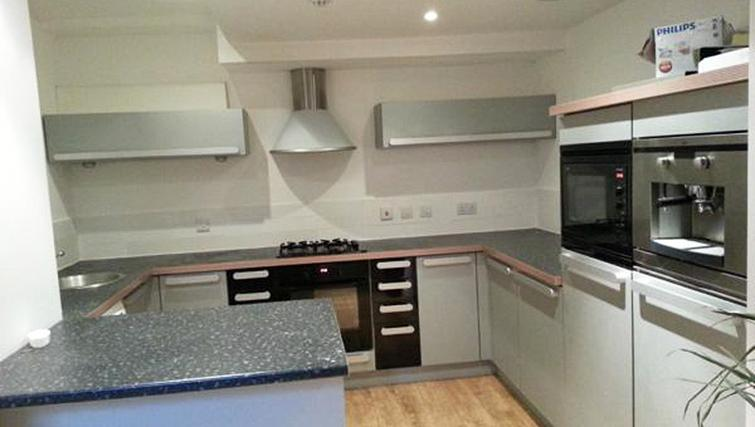 Kitchen at Winckley Square Apartment