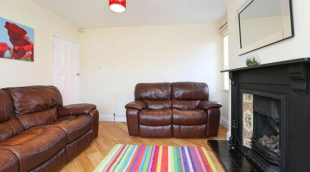 Living area at Coundon House
