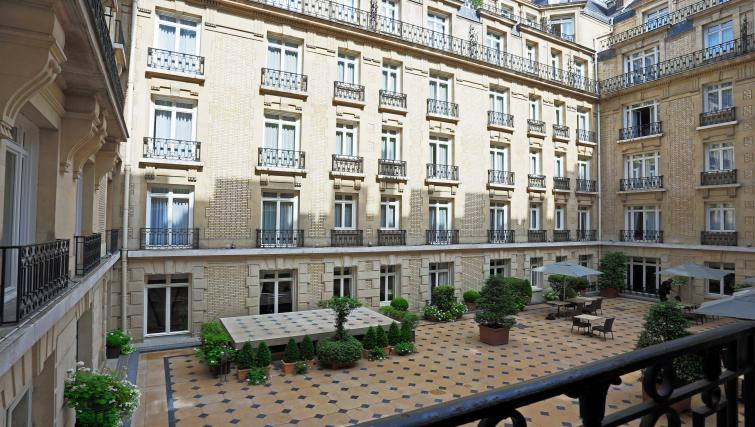 Outside of property at Fraser Suites Le Claridge Champs-Elysees