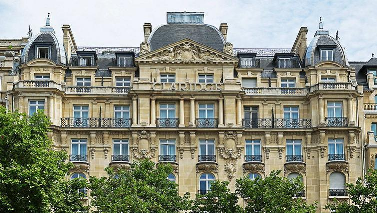 Breathtaking Exterior of Fraser Suites Le Claridge Champs-Elysees