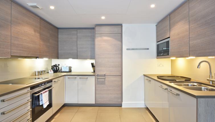Kitchen at Still Life Vauxhall