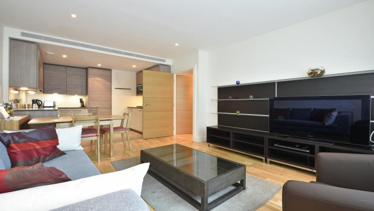 Furnished living area at Still Life Vauxhall