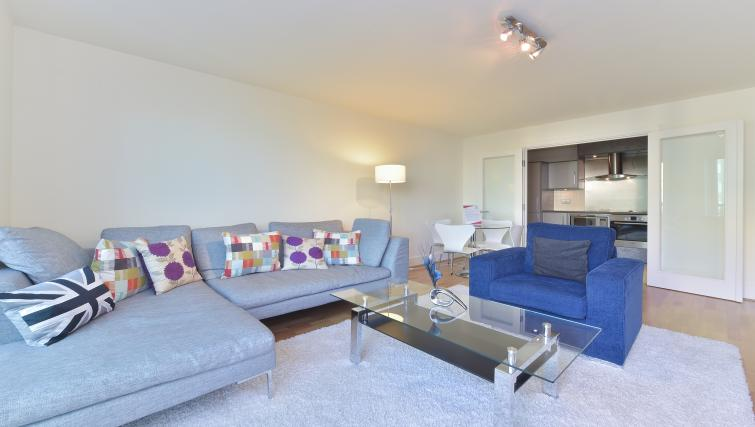 Homely living area at Still Life Vauxhall