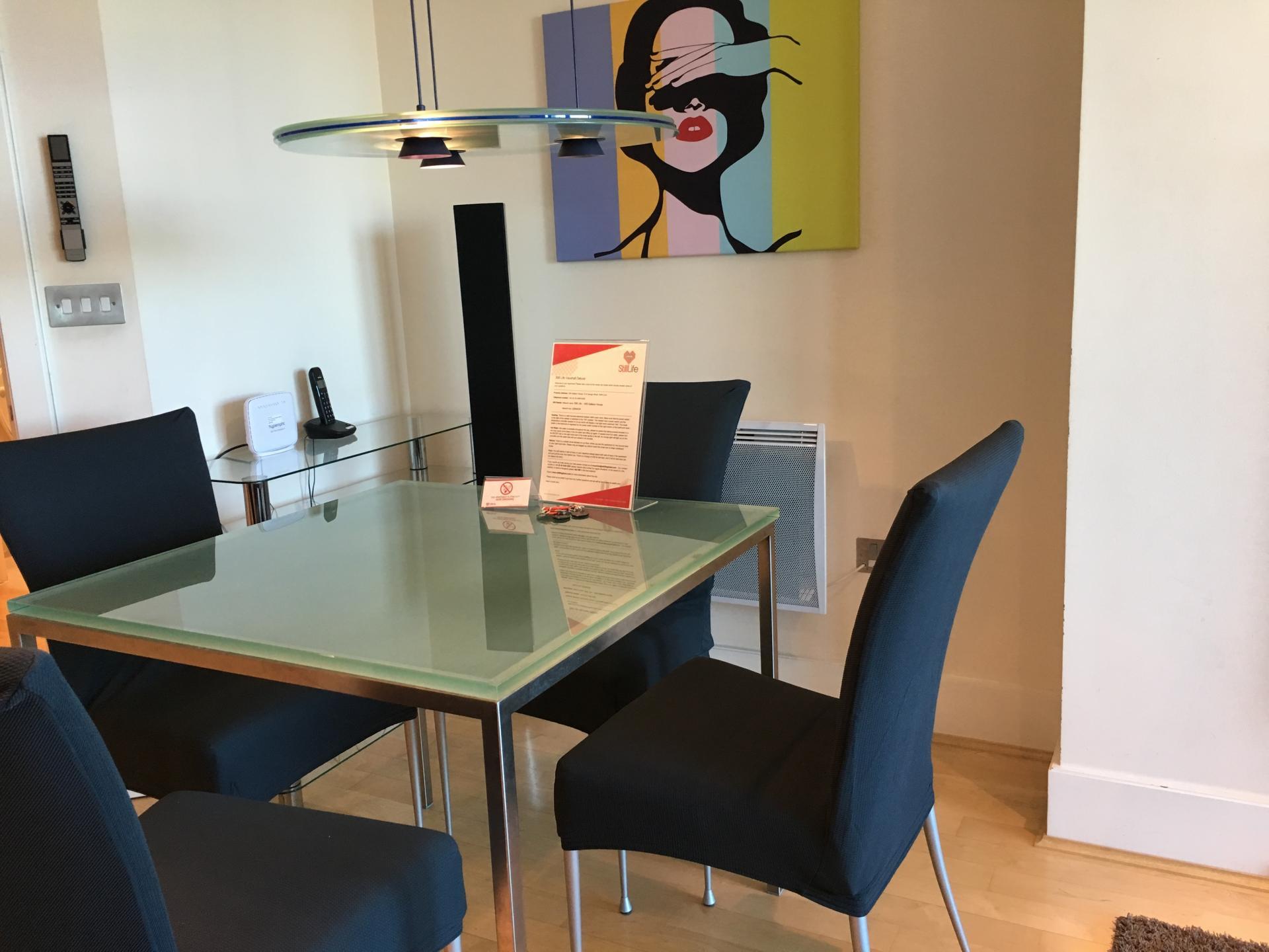 Dining table at Still Life Vauxhall