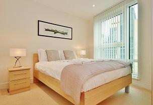 Bright bedroom at  Still Life Vauxhall