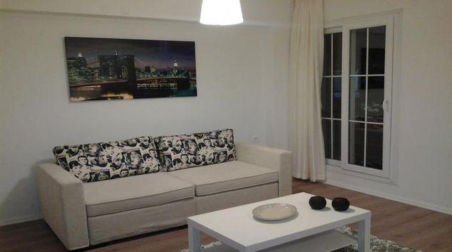 Living area at Deka Evleri Apartments