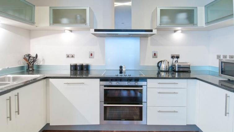 Kitchen at Discovery Dock East Apartment