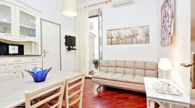 Living area at Aleardi Apartment