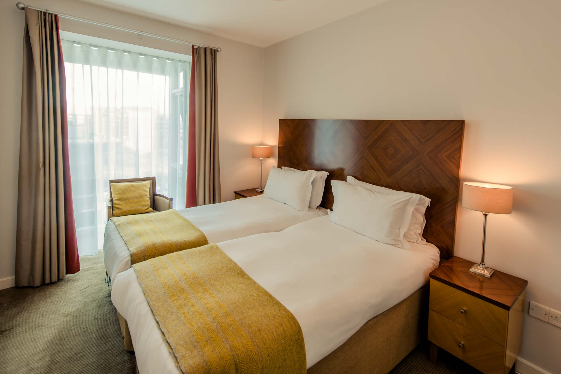 Twin bedroom at Premier Suites Dublin Sandyford, Sandyford, Dublin