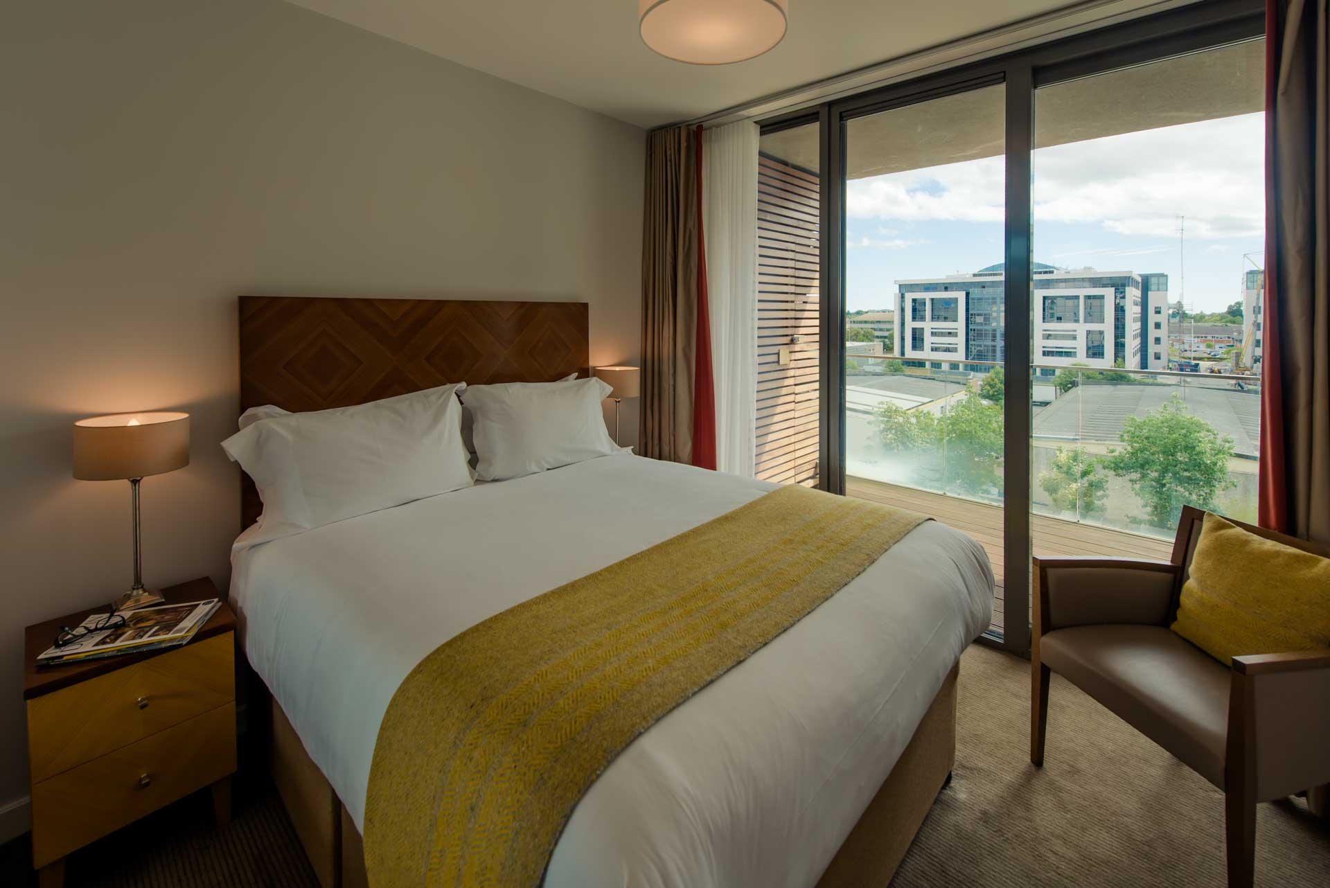 Double room at Premier Suites Dublin Sandyford, Sandyford, Dublin