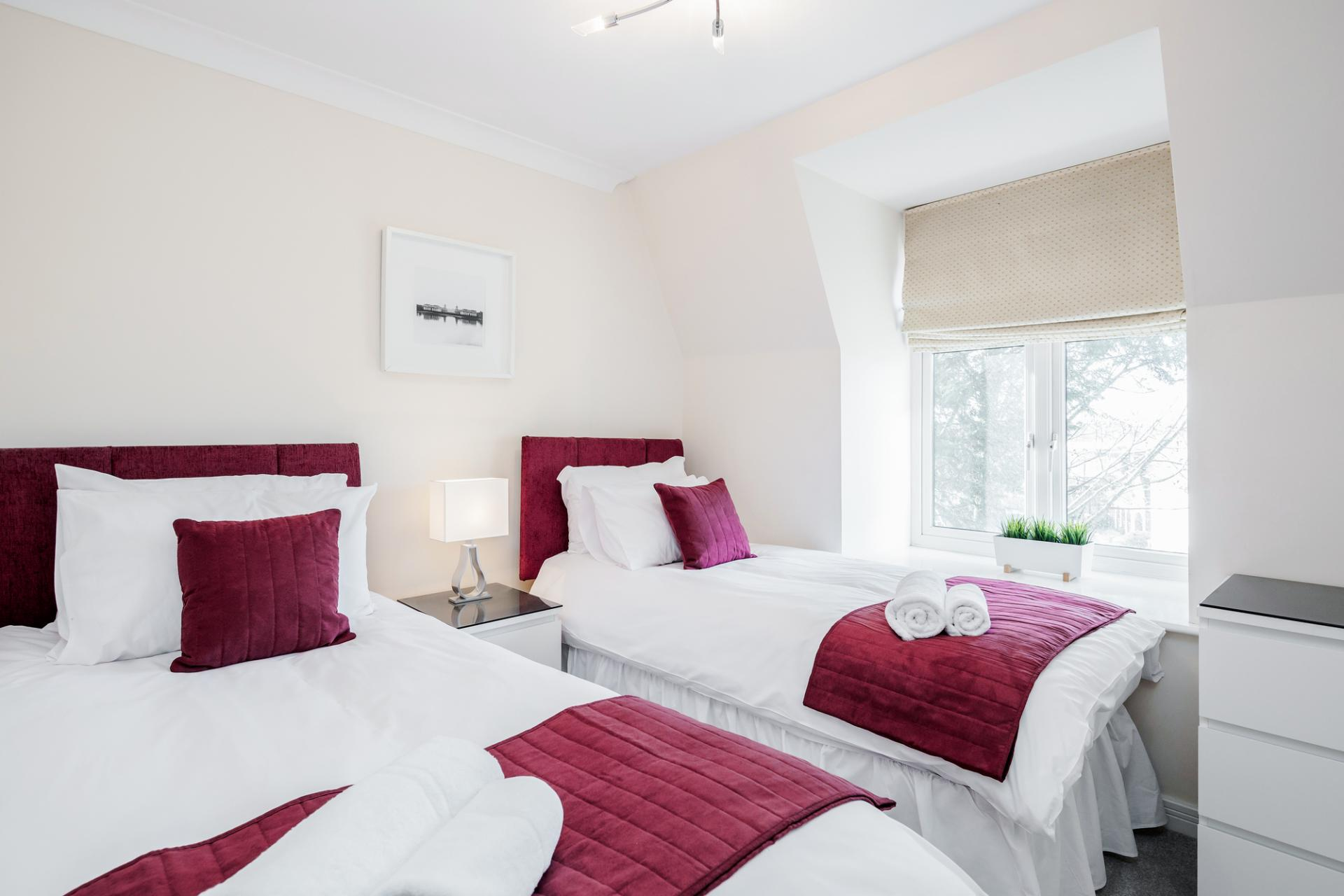 Beds at Royal Swan Quarter Apartments, Centre, Leatherhead