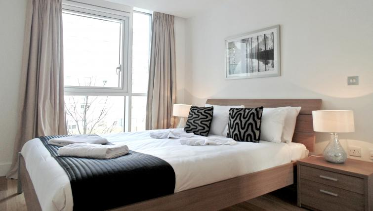 Bed at Still Life Tower Hill Deluxe