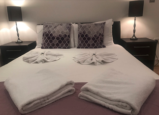 Cosy bedroom at Still Life Tower Hill Deluxe