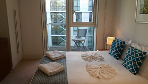 Balcony at Still Life Tower Hill Deluxe