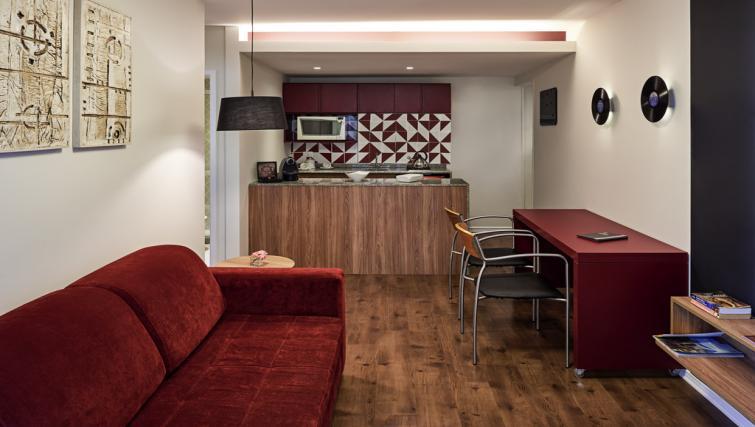 Living room at Adagio Rio de Janeiro Ipanema