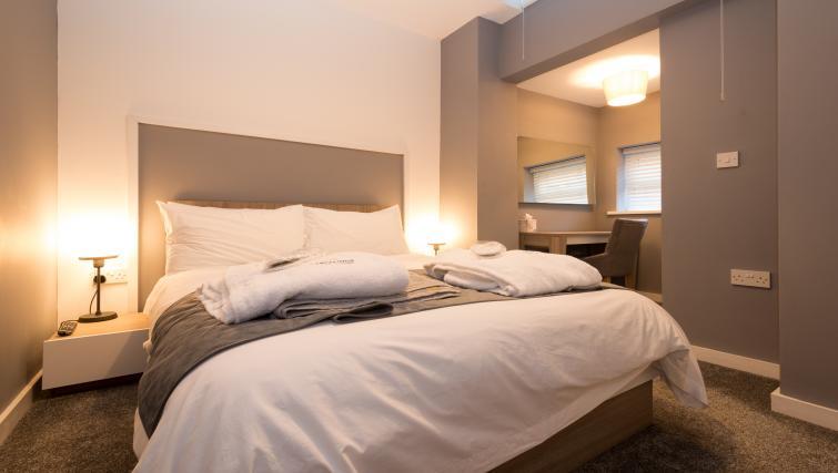 Bedroom at Fitzhamon Apartments