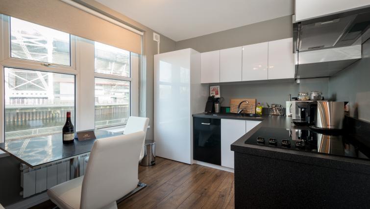 Dining area at Fitzhamon Apartments