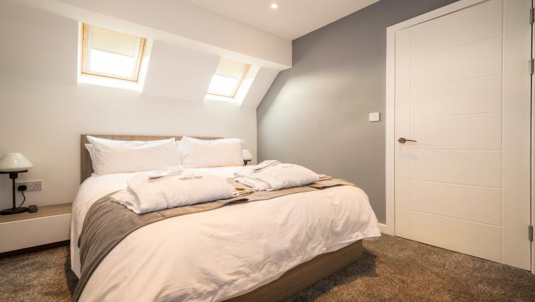 Bed at Fitzhamon Apartments