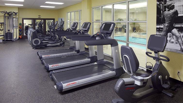 Gym at Hyatt House Philadelphia-King of Prussia