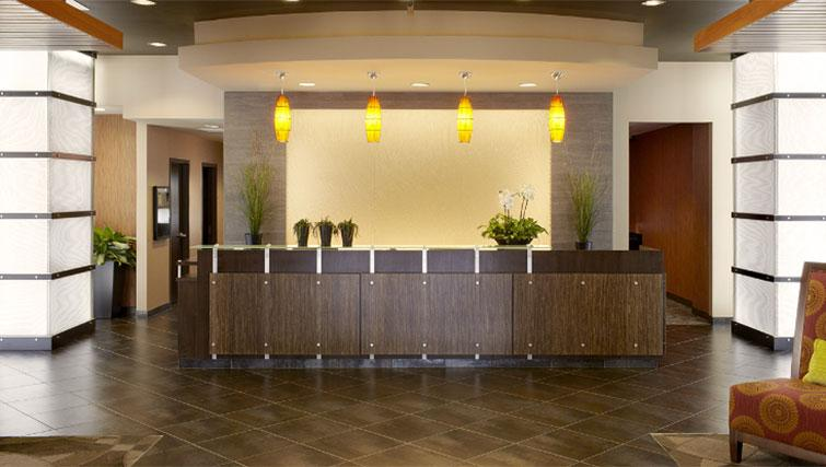 Lobby area at Hyatt House Philadelphia-King of Prussia