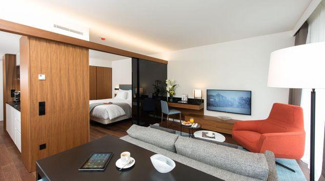 Living Room at Fraser Suites Geneva, Centre, Geneva