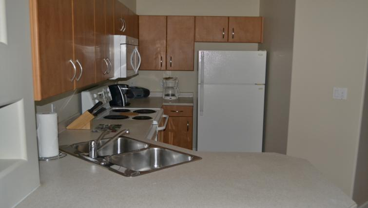 Kitchen at The Ashby Apartments