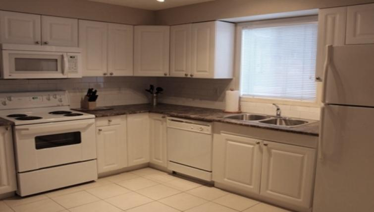 Kitchen at South Edmonton Apartments