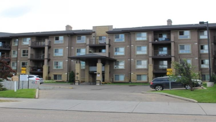 Exterior at South Edmonton Apartments
