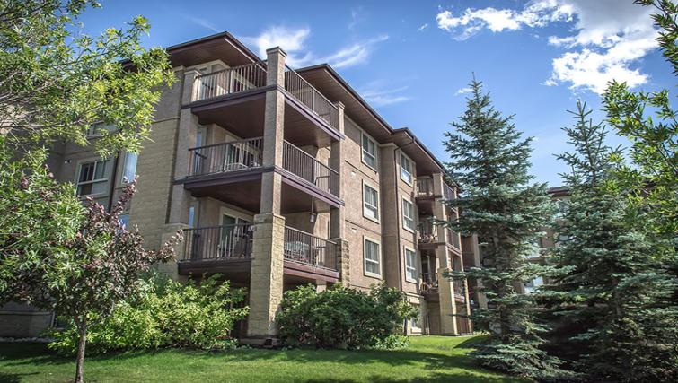 Balconies at South Edmonton Apartments