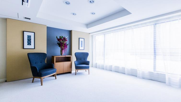 Spacious living area at Somerset Shinagawa Apartments