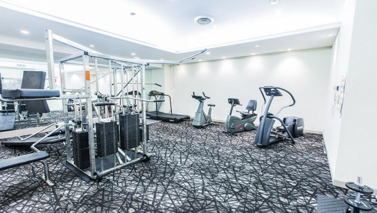 Fitness centre at Somerset Shinagawa Apartments