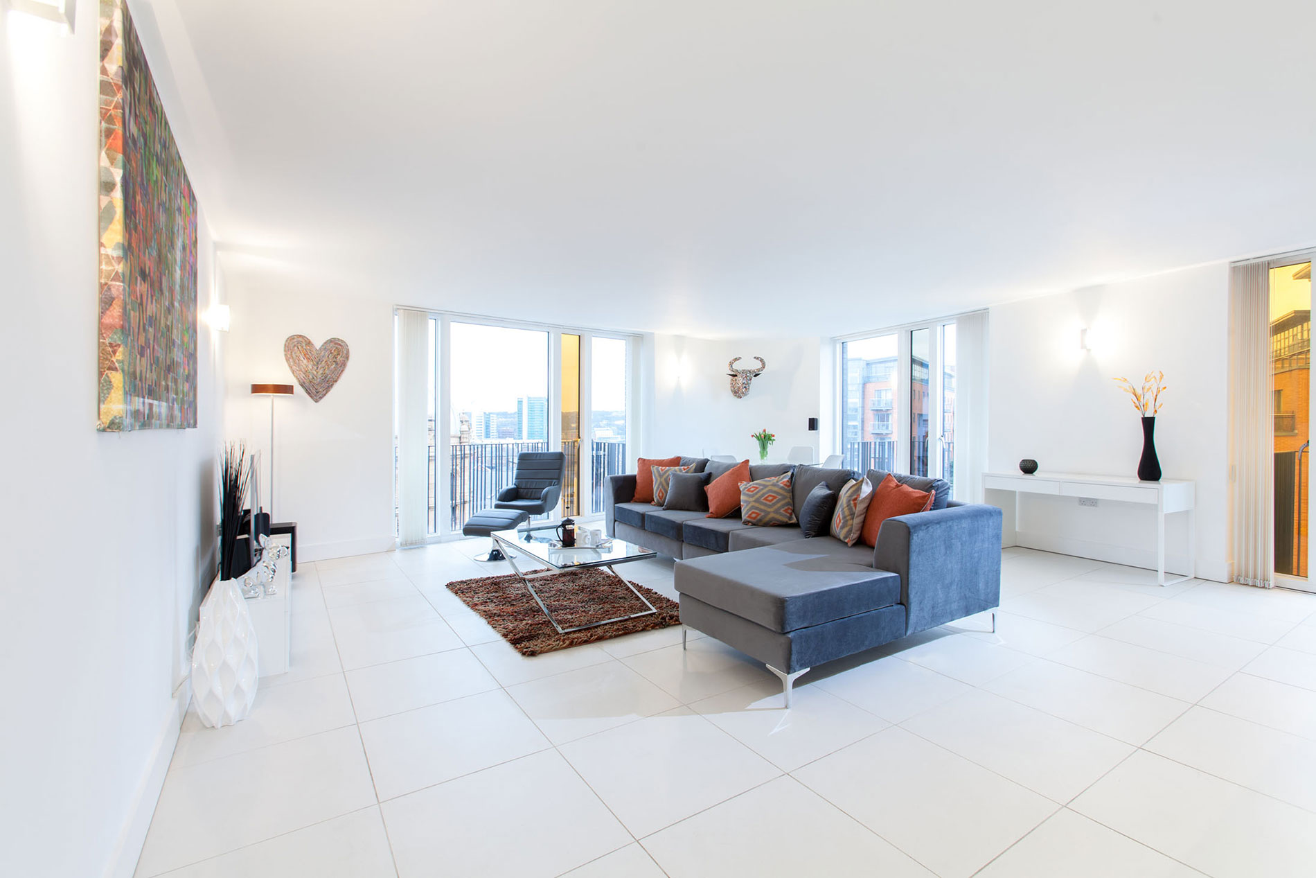 Spacious living are at Sinclair Apartments, Centre, Sheffield