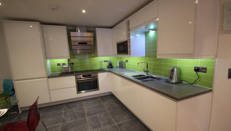 Kitchen at St Giles Court Apartments