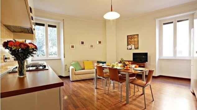 Living room at Cerveteri Apartment