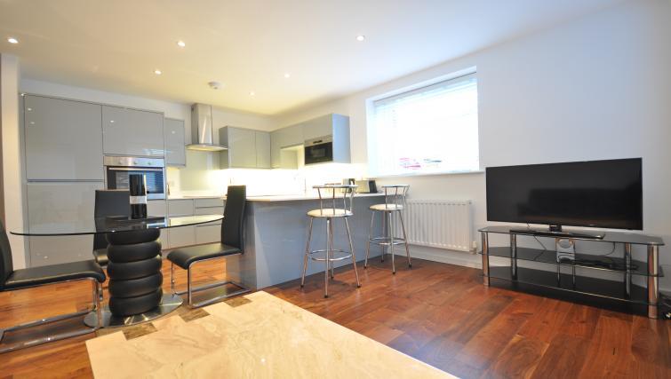 Kitchen at Saxon House Apartment