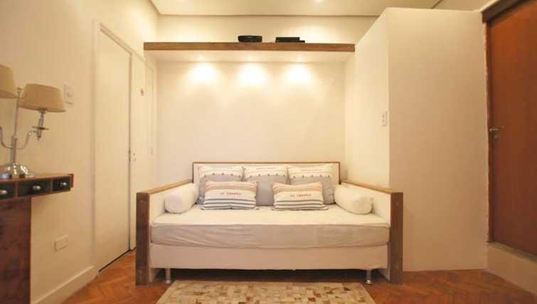 Sofa bed at Vinicius Apartment